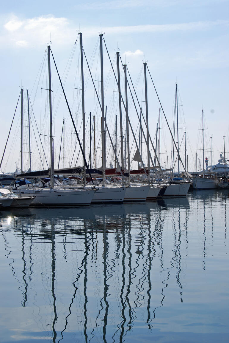 The Port in Cannes - March 2010 -