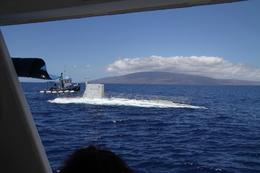 We were shuttled to meet the submarine, Charles W - June 2010
