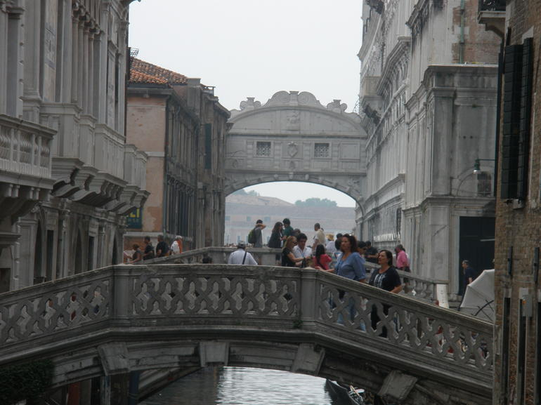 Venice Bridge of Sighs - Venice