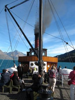 On board the TSS Earnslaw - May 2010