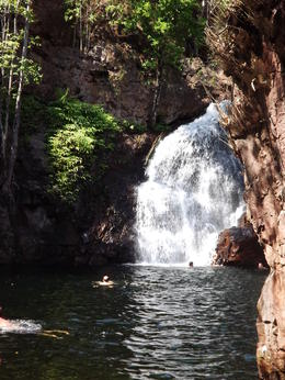 This is a beautiful waterfall at Litchfield National Park. , Rag doll Kitty Cats - August 2013