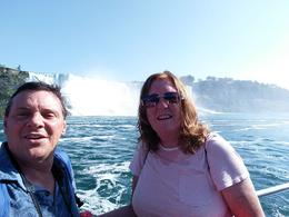 All aboard The Hornblower at the falls , Bryan C - October 2017