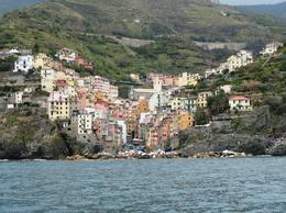Approaching Riomaggiore , Megan S - October 2012