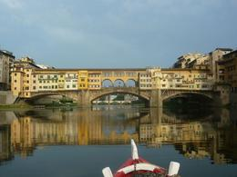 best picture of the Ponte Vecchio as we sailed back down the river, AlexB - July 2012