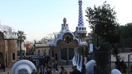 Check out Parc Güell! - March 2012