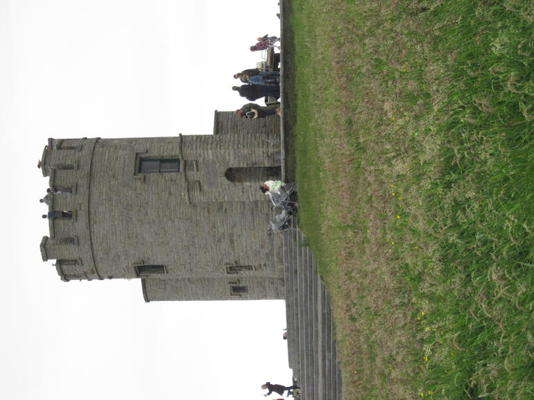 At the Cliffs of Moher - Dublin