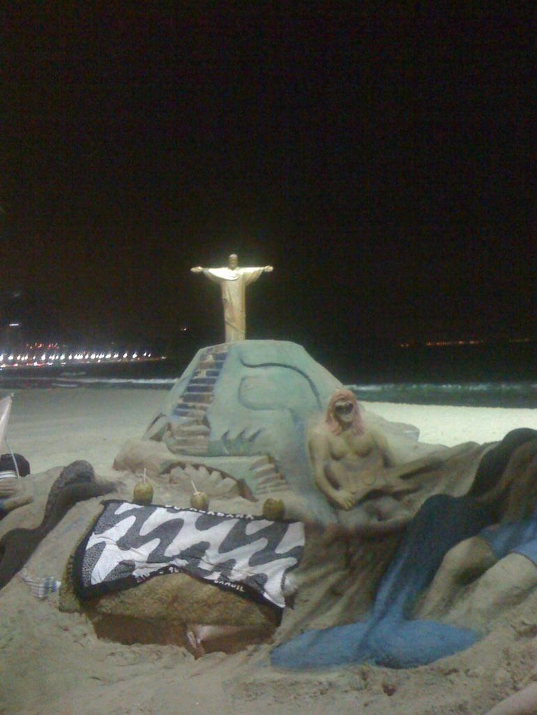 Beach Art - Rio de Janeiro