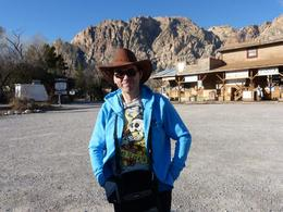 Me in my new Cowboy hat , Stephen B - April 2013