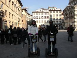 Place: Piazza Duomo. My wonderful guide and me. - March 2010