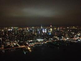 Swooping over magical Manhattan, Marky M - October 2012