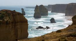 coastline of the Twelve Apostles looking west, Susan H - November 2010