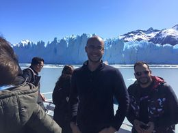 In the ship, sailing through the glacier! , Enrique A - October 2015