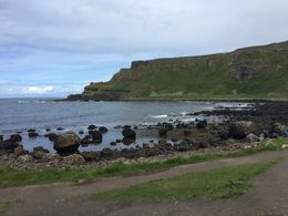 The coast was so beautiful, I felt like the tour was worth it before we even made our first stop. Here is one picture I took of the Ireland coast. , Jennifer C - August 2016