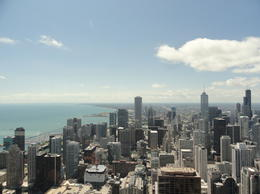 Southern view of the city from the 94th floor. , Michelle B - August 2013