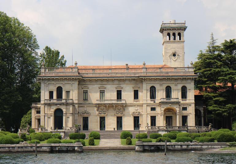 Lake Como - view from boat - Milan