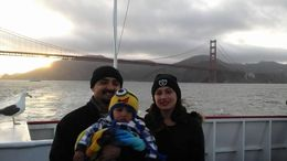 My lovely family and I on our sunset cruise in San Francisco. , laura s - May 2015