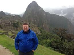 Oliver (me) at Machu Picchu. First look. , Oliver K T - May 2014