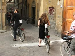 Riding a bike in Florence was beautiful - August 2009