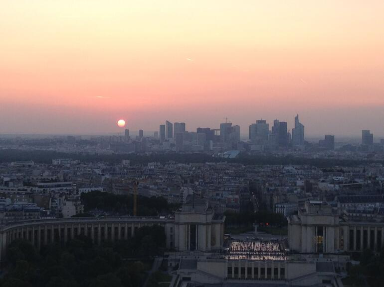 Sunset - Paris