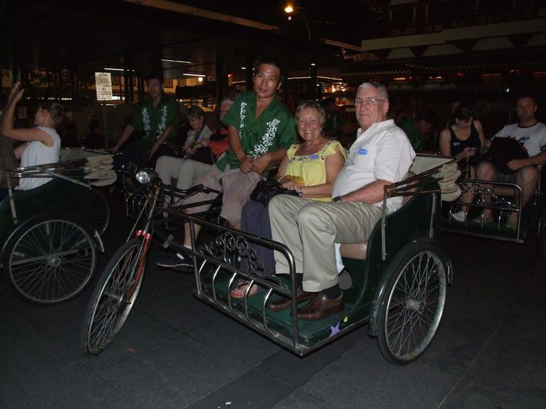 Trishaw ride - fun time - Singapore