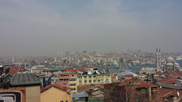 Tour guide took us to this cool lookout where we saw all of Istanbul. , Ranjit B - May 2015