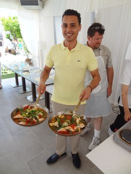 One of the dishes we prepared at the Sicilian Cooking Class , Matthew M - June 2015