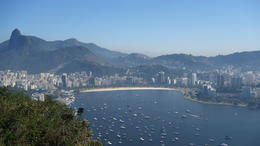 View of Rio from Sugar Loaf , Michael - January 2017