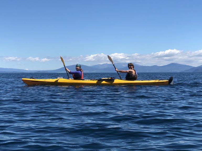 Great Lake Taupo Mountain Bike and Kayak Package