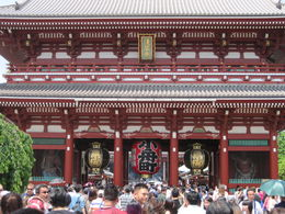 Asakusa Temple , Joanne U - June 2016
