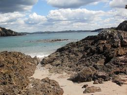 Bay of Islands - from the beach - November 2011