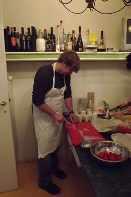 Look at those knife skills! , Mfair5 - March 2012