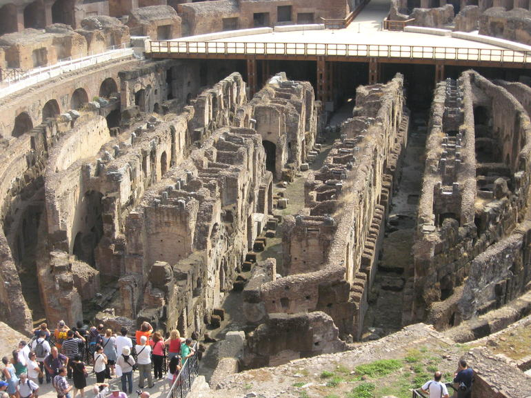 Center View of Colosseum - Rome