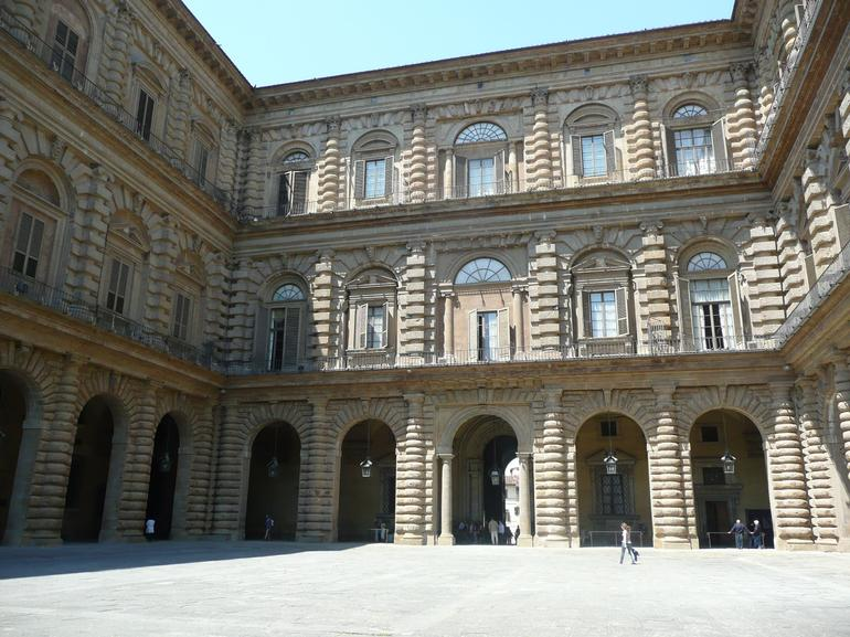 Courtyard of Pitti Palace - Florence