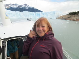 Boat tour at the Perito Moreno , Danny - February 2016