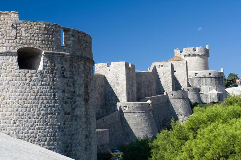 Dubrovnik Old Town walls - Dubrovnik