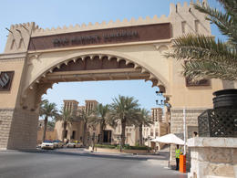 Entrance to Souk Madinat Jumeirah. Beautiful architecture , Jill - November 2011