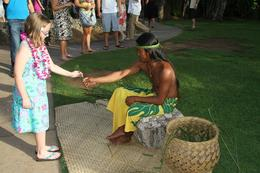 After arrival, you are free to wander the grounds where many island craftspersons show their skills, Charles W - June 2010