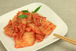 Napa cabbage kimchi - June 2012