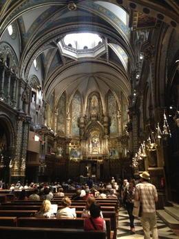 Basilica interior , Saundra B - July 2013