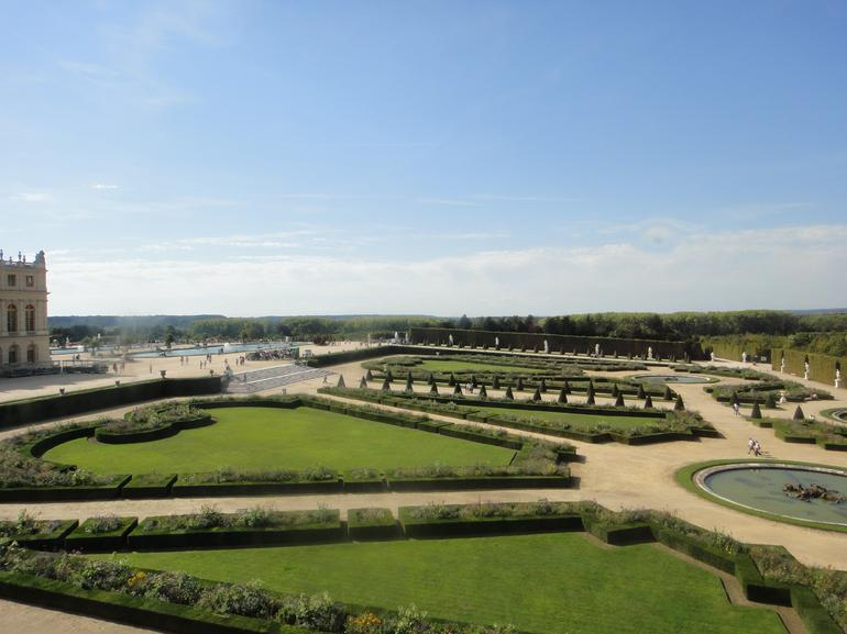 The gardens of Versailles - Paris