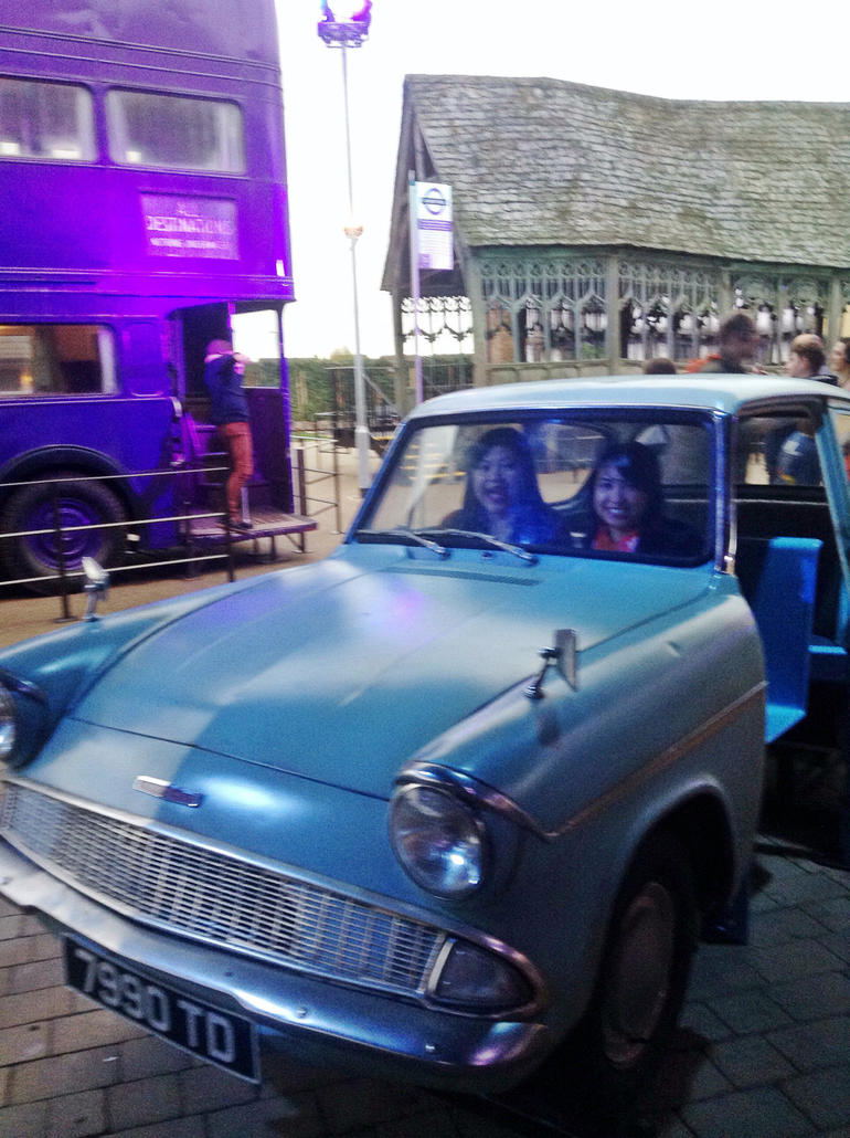 The Weasley car - London