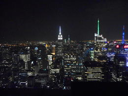 Evening view of New York , Lucy - September 2014