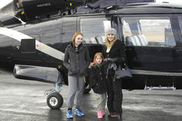 This was just before the helicopter tour. I took my two kids ages 16 and 6 they both loved it! , Cherie B - April 2014