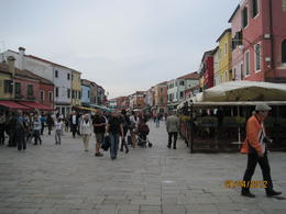 Pretty Burano, lovely icecream , Juliette S - May 2012