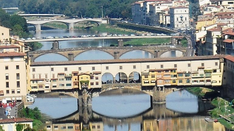 vista desde la Piazzale Michelangelo - Florence