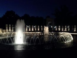 The fountains at the World War 2 monument , JoAnn B - August 2016