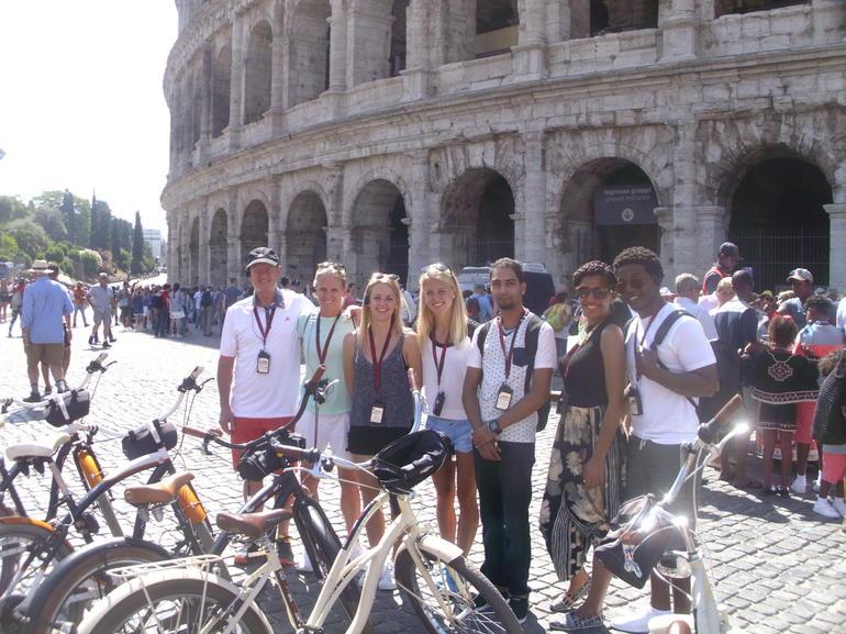 Rome 3-Hour Sightseeing Bike Tour