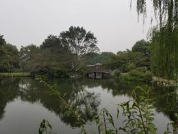 Walking around at the West Lake World Heritage Site , Carl S - October 2017