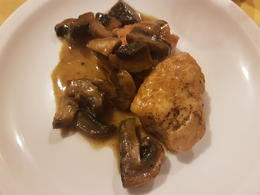 Third course: Chicken and mushrooms , Michelle C - October 2017