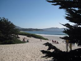 At the Southern end of the 17 mile drive this is Carmel Beach. Lovely spot., Undercover Américan - October 2010